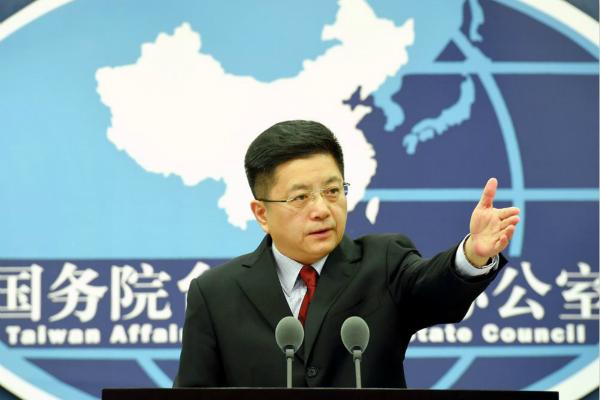 蔡英文称相信大陆不会对台湾动武 国台办回应